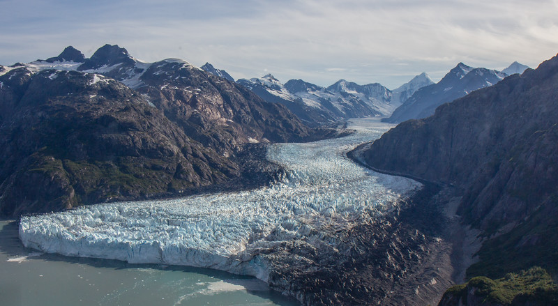 Margerie Glacier from Above