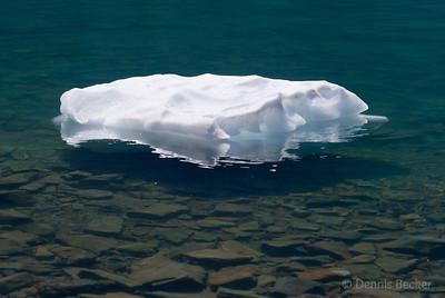 Ice in Iceburg Lake