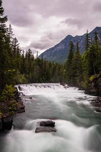 McDonald Falls, Glacier NP Montana