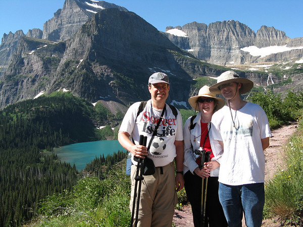 Grinnell Glacier volkswalk, Aug 5, 2008