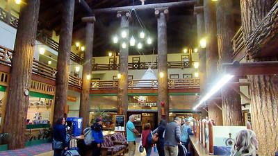 Glacier Park Lodge in Montana