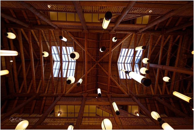 Many Glacier Lodge Ceiling
