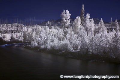 This is the north fork of the Flathead River shot near Polebridge.