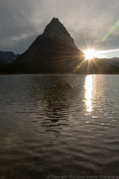 Sunburst, Grinnel Point, Swiftcurrent Lake