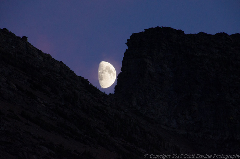 Moon Rise over Wynn Mountain