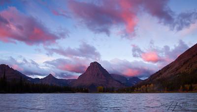 Two Medicine Lake in Fall