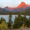 Sunrise at St. Mary's Lake