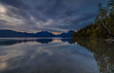 Lake McDonald  Glacier, NP