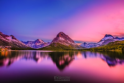 """Swiftcurrent's Splendor,"" Many Glacier, Glacier National Park"