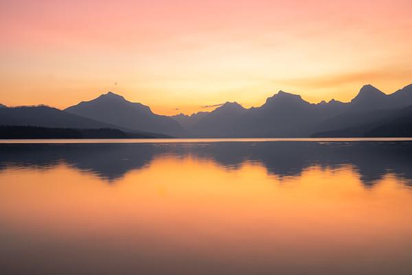 Sunrise Lake Mcdonald