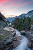 Hidden Creek at Sunset - Glacier National Park, Montana - Renant Cheng - July 2012