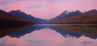 Bowman Lake in Fall