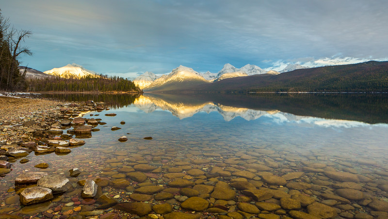 Fish Creek Side of Lake McDonald