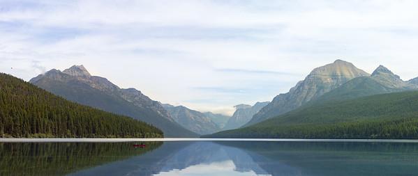 Bowman Lake Canoe