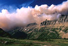 Smoke Clouds Over Garden Wall - Glacier National Park, Montana - John Hewitt - July 2003