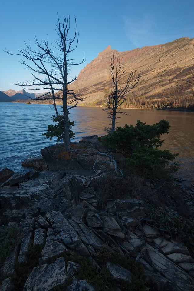 St. Mary's Lake at Sunrise