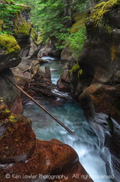 Down Avalanche Gorge II