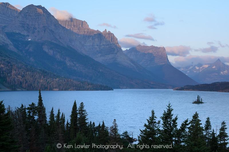 St. Mary's Lake sunrise