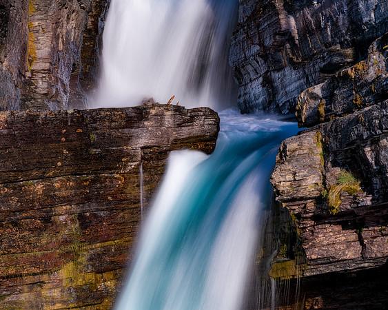 Glacier Water Fall