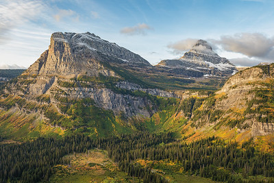 Glacier National Park Logan Pass Overlook