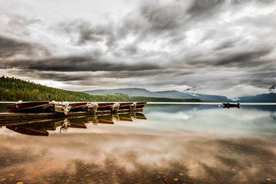 Moored @ Lake McDonald