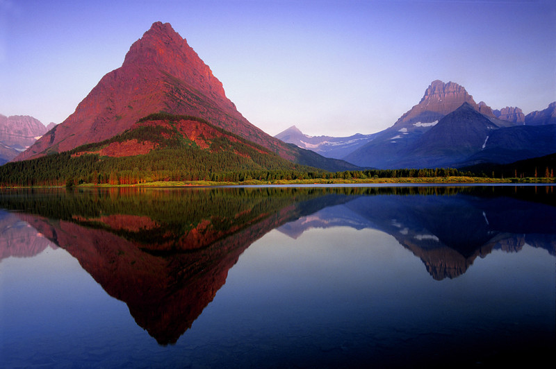 Swiftcurrent Lake - Glacier National Park, Montana - John Hewitt - July 2003