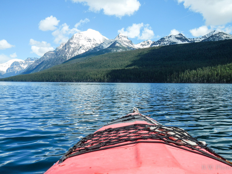 first kayak trip of the sunmmer
