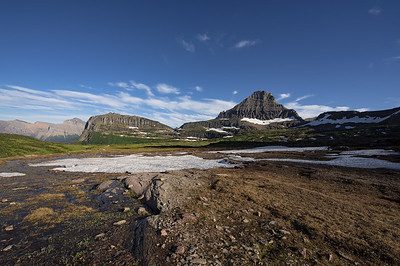 You get it all at Glacier.  A truly amazing landscape.