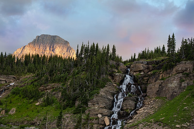 Interesting little cascade near Logan Pass