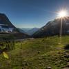 Glacier - Hidden Lake Sunset