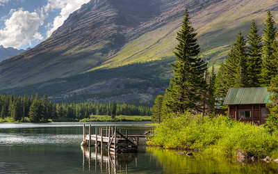 Glacier - Swiftcurrent Lake