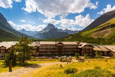 Glacier - Many Glacier Hotel