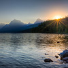 Glacier - Lake McDonald Sunrise