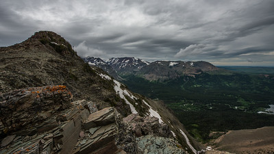 Scenic Point on Mt. Henry in Glacier National Park