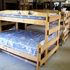 "<b> Special Order Only - Call (989) 246-1100. </b>  NEW Natural Solid Wood TWIN SIZE Bunk Bed Sets. Price is for frame-only, but you can get terrific new mattresses at liquidation prices in our store. 81L x 58w x 58h (twin width is 42"") <font size=""1"">  f C300-061</font>"
