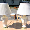 Cream Colored Table Lamps.  <b>$20 each</b>