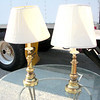 Brass Lamps <b>$35 each.</b>