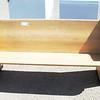 Oak Pew 62 x 34 x 22.  <b></b>