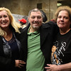 Lynn, Mas. 12-12-17. Cathy DeRosa, Greg DeRosa, and Terri Pladziewizz at the Gladys Knight concert at Lynn Auditorium.