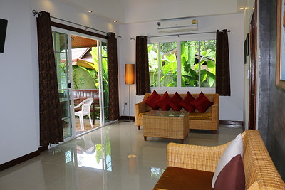 Glai Talay Villa Open Plan Lounge Long Beach, Ko Lanta