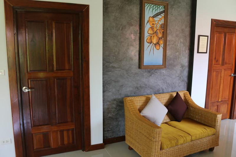 Glai Talay Villa -  Door to bedrooms