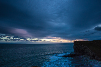 Nash Point dramatic skies