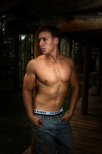 Model: Max Morin.<br /> Max looking great in his Joe Boxers, I thick he would make a great underwear model.