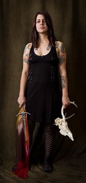 Lauren as Lady Macbeth