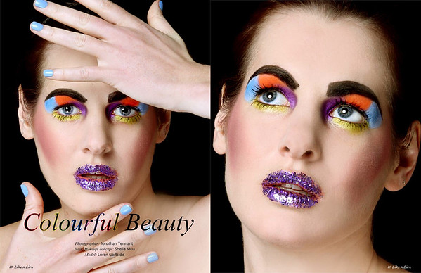 Editorial beauty shoot - Chertsey Surrey
