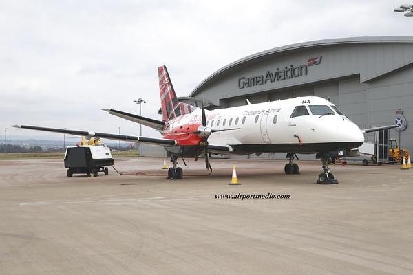 G-LGNA SF340 Loganair @ Glasgow Airport (EGPF)
