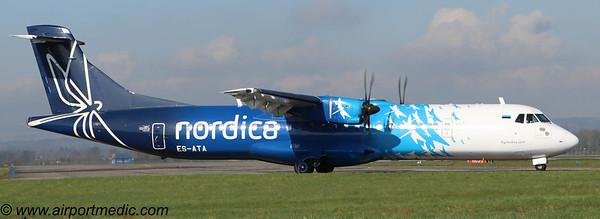ES-ATA ATR72 Nordica @ Glasgow (EGPF)