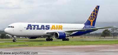N640GT 767 AtlasAir @ Glasgow Airport (EGPF)