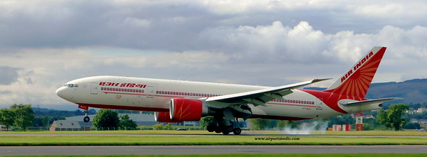 VT-ALH B777 Air India @ Glasgow Airport (EGPF)