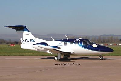 2-CLRK EA50 Channel Jet @ Glasgow (EGPF) 02.04.2021